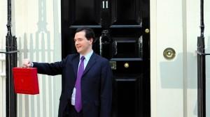 George Osborne presents the Budget