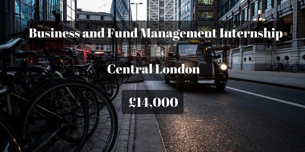 Business and Fund Management Internship