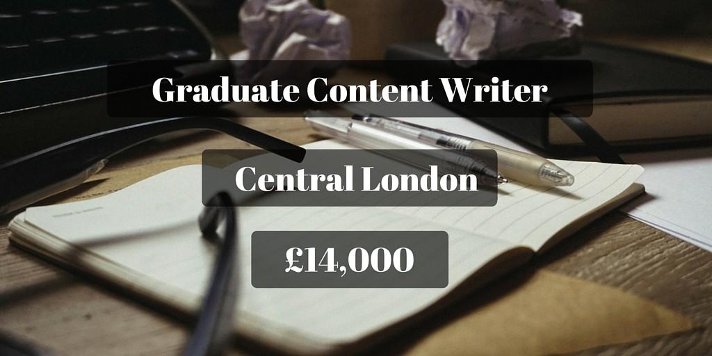 Graduate Content Writer