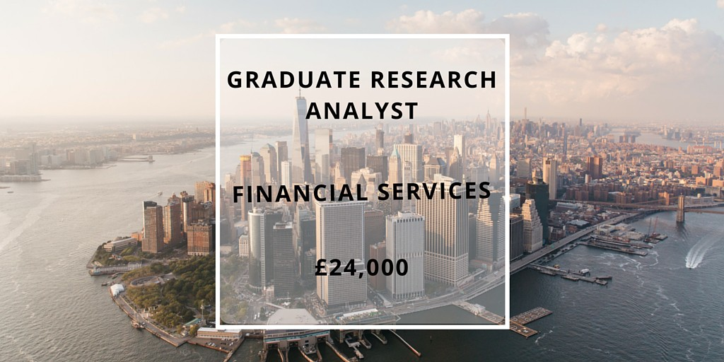 Graduate research analyst