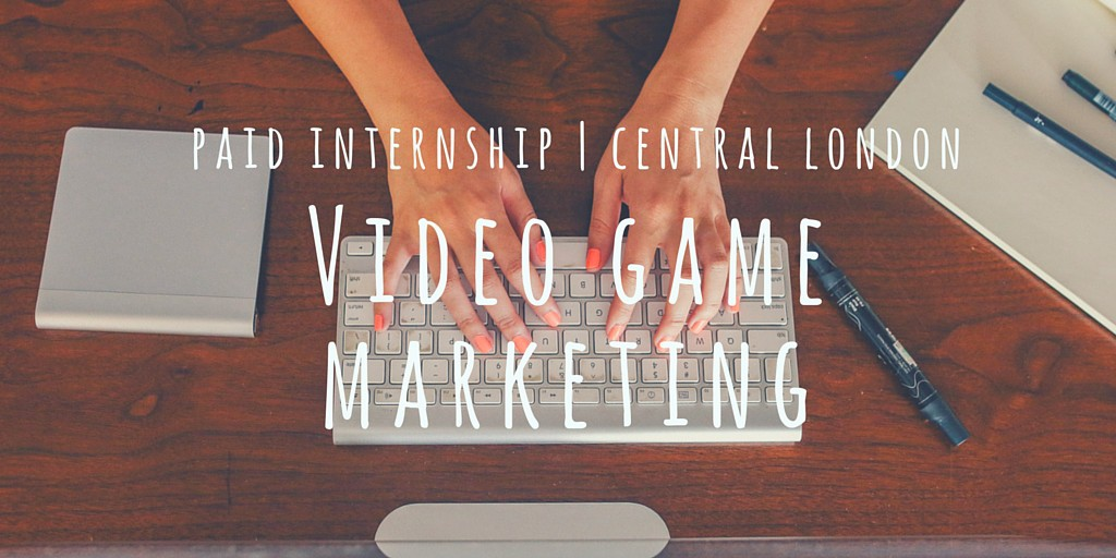 Video Game Marketing Job Ad