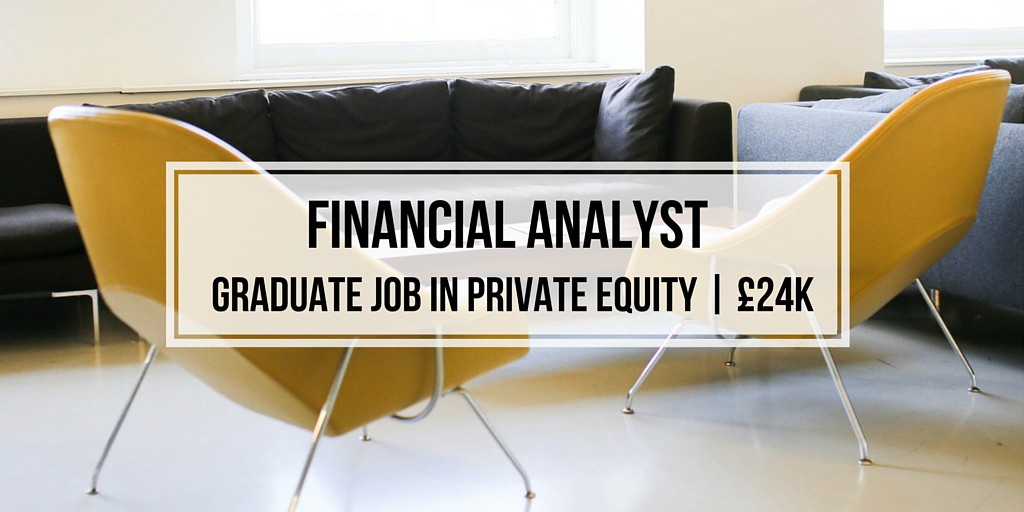 Financial Analyst Job Ad