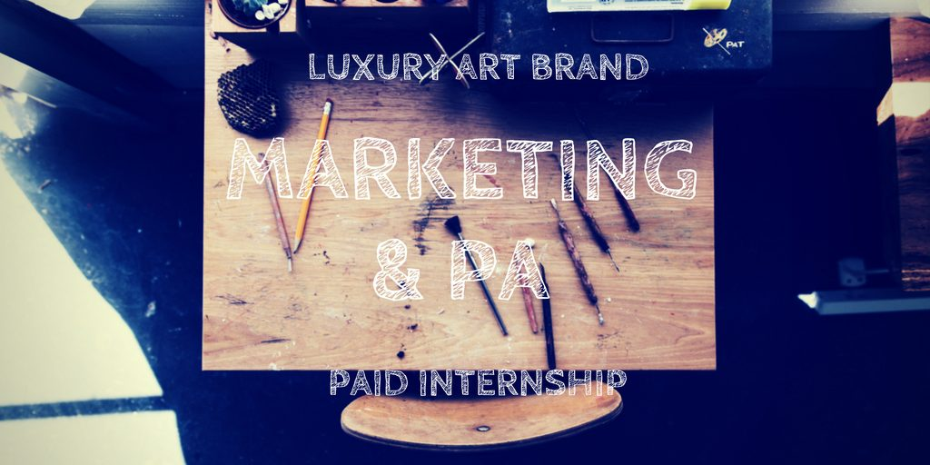 Marketing & PA advert
