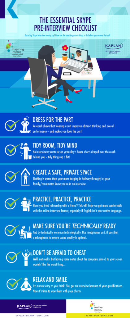 Essential Skype Checklist Infographic