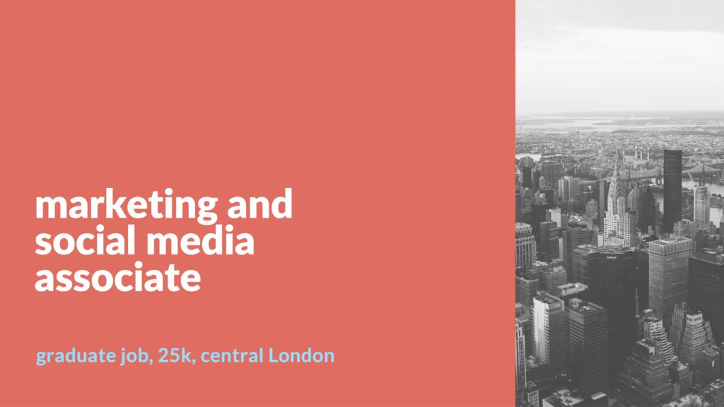 marketing and social media associate