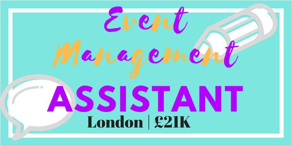 event management assistant