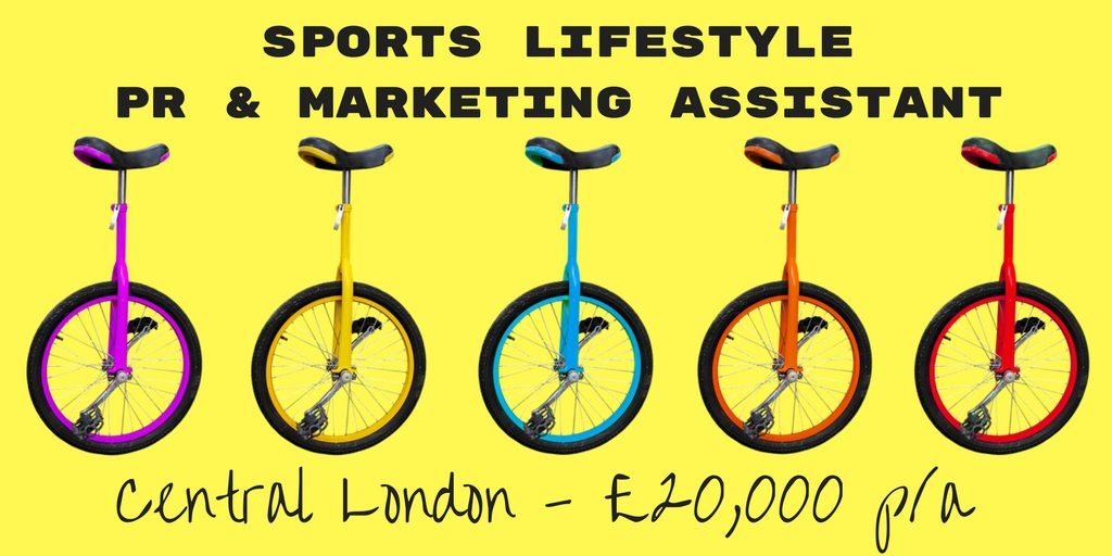 Sports Lifestyle PR & Marketing Assistant