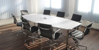 corporate business meeting room