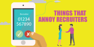 things that annoy recruiters