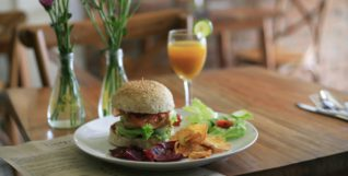 veganuary burger